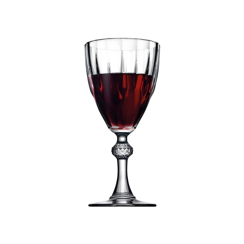 44767 Diamond Kırmızı şarap kadehi
