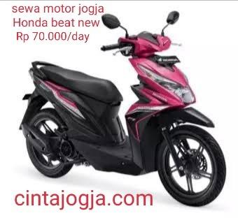 sewa motor jogja Honda beat new