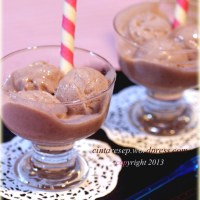 RED BEAN Ice Cream Homemade
