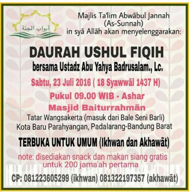 Kajian+Ushul+Fiqh
