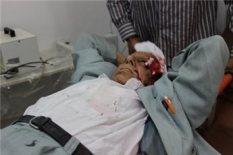 al-Aqsa - older man injured. Ma'an