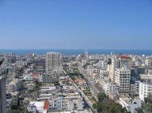 Gaza City on the Mediterranean