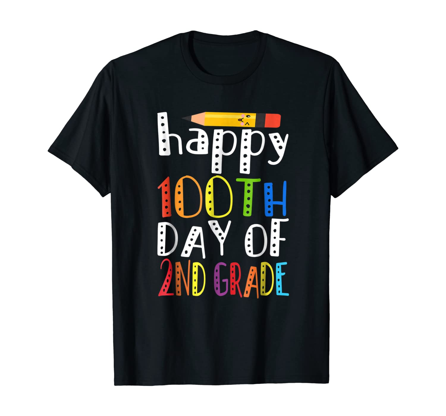 100th Day Of 2nd Grade Tshirt 100 Days Of School T