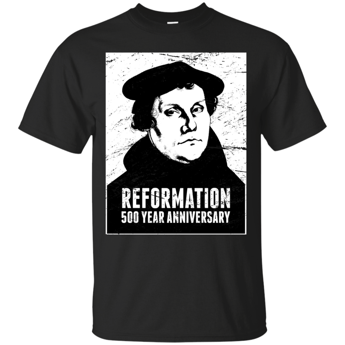 Anniversary Martin Luther Protestant Reformation Shirt Men