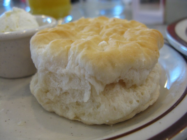 biscuit with butter