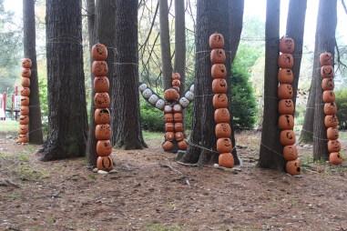 A totem Halloween among the hemlock grove.