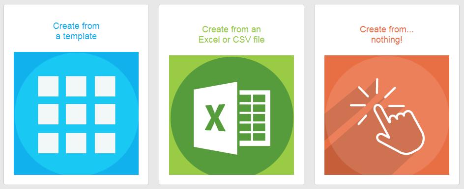 PickaForm - Create an application from an XLS or CSV file - EN