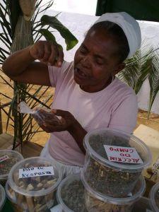 Dona Santa e suas ervas medicinais Amargosa - Bahia