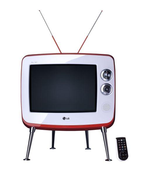 Decoração retrô: TV LG Vintage