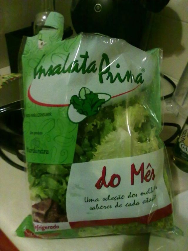 Salada do mês - Insalata Prima