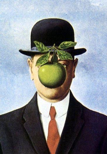 Son of Man, de Magritte
