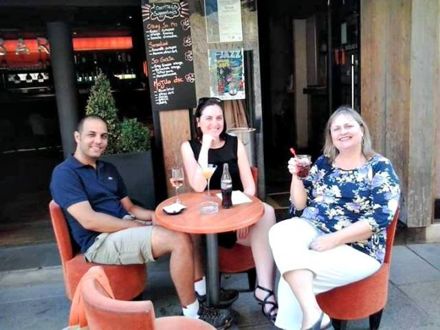 Bar em Megève, França