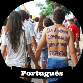 Ler os textos da Cíntia Costa em português.