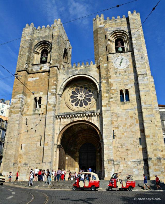Lisboa, Portugal: Catedral Santa Maria. Fotos: cintiacosta.com