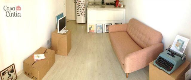 Casa: decoração retrô em apartamento pequeno. Foto: blog Casa da Cíntia.