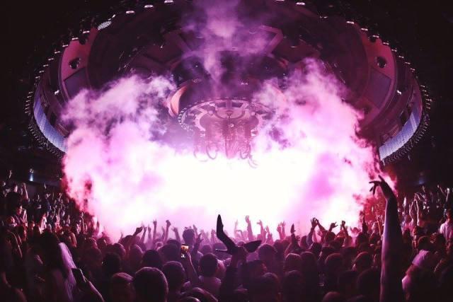 Balada em Las Vegas: XS Night Clube no hotel Wynn. Foto: XS.