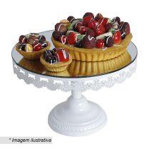 Prato para bolo e suporte para doces no Privalia. Confira seleção de produtos com desconto em www.cintiacosta.com