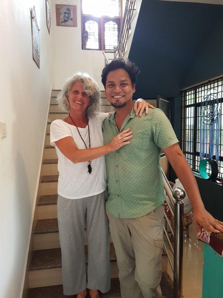 Io e Ashrak, Cinzia Pedrani