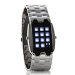 MechX - Japanese Inspired White LED Watch