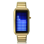 Zero Kelvin Gold - Japanese Inspired LED Watch