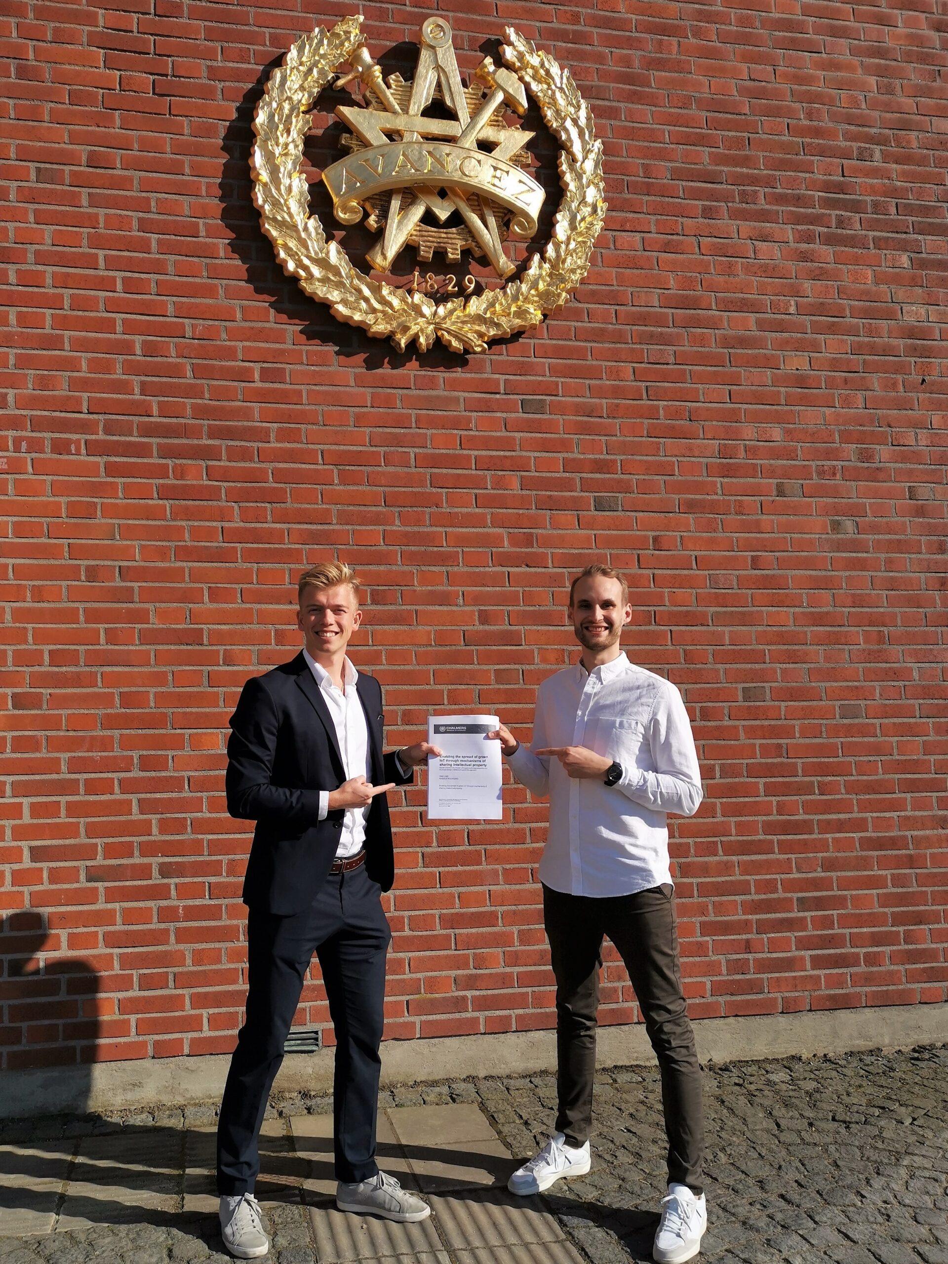 Isak Lind And Rasmus Kockgård