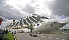 """Kruīza kuģis """"Costa Pasifica"""""""
