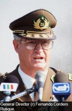 General (r) Fernando Cordero Rusque