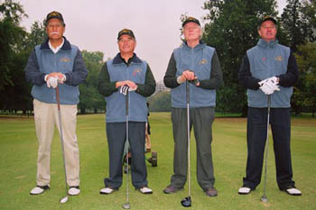 Guillermo Garin, Juan Lucar, Richard Quaas, Nelson Haase