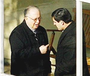 Fernando Karadima y Diego Ossa