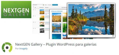 NexGen Gallery WordPress