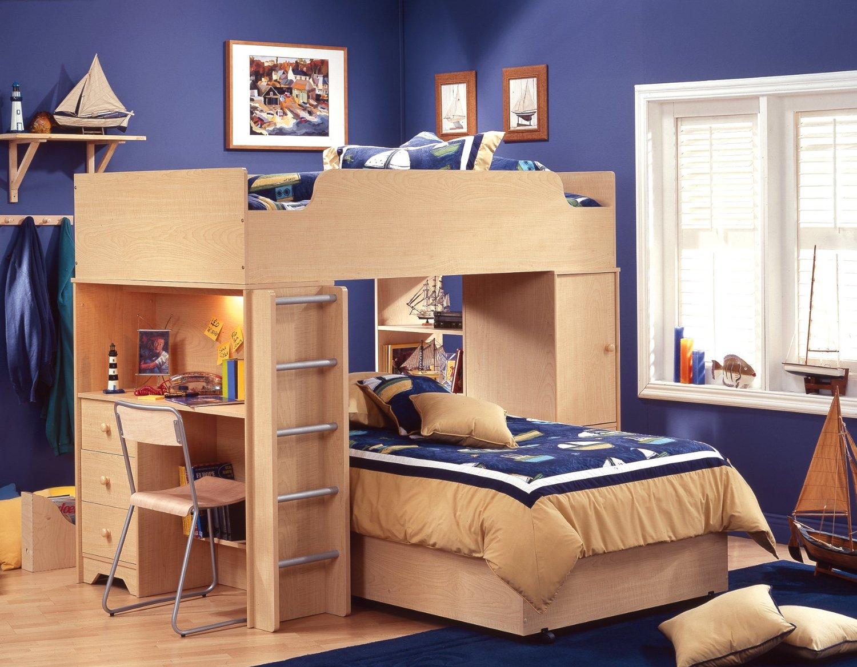 Diy Loft Bed With Desk Underneath Pdf Download Hope Chest