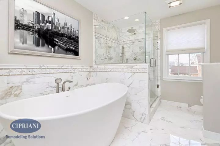 Voorhees bathroom remodel
