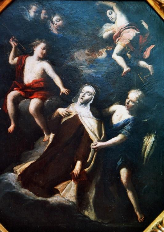 Antonio Gherardi. Boceto para la transverberación. Col. Priv.
