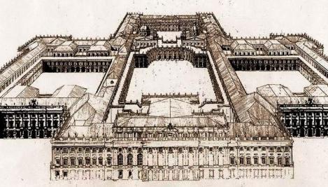 Reconstrucción del proyecto del palacio real de Juvarra