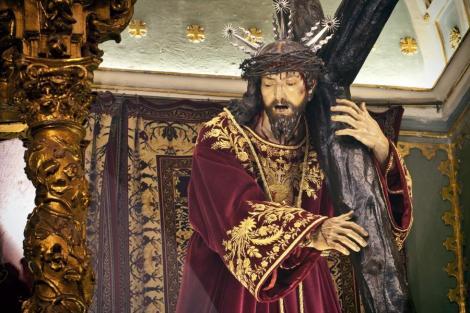 Luisa Roldán. Jesús Nazareno. Sisante (Castilla - La Mancha)