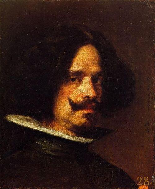 Diego Velázquez. Autorretrato. Colección Real Academia de Bellas Artes de San Carlos. Museo de Bellas Artes de Valencia. Foto: wikipedia
