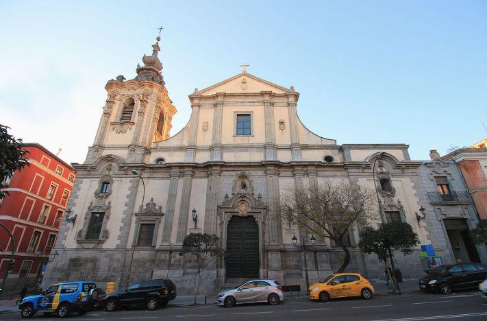 Iglesia de Montserrat en Madrid. foto: wikipedia
