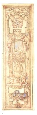 Sebastián de Herrera Barnuevo. Decoración de entrepaño. BNE