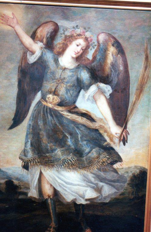 Bartolomé Román. Arcángel San Miguel. Museo de Guadalajara. Foto: @cipripedia