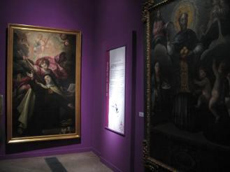 Museo de Guadalajara. Vista de una de sus salas.