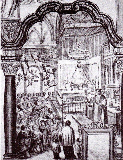 Domingo de Yarza. Proyecto para la Capilla de la Virgen. 1725