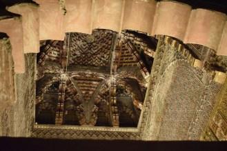 Capilla Real. Detalle cúpula de mocárabes.