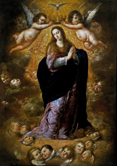 Antonio de Pereda. Inmculada Concepción. Museo del Prado