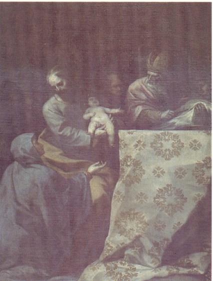Alonso Cano. Circuncisión
