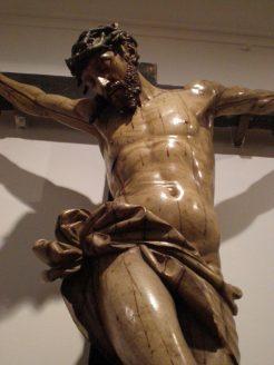 Sebastián Ducete. Cristo crucificado. Museo Frederic Marès. Barcelona. Foto: Miguel Hernández Caballero.