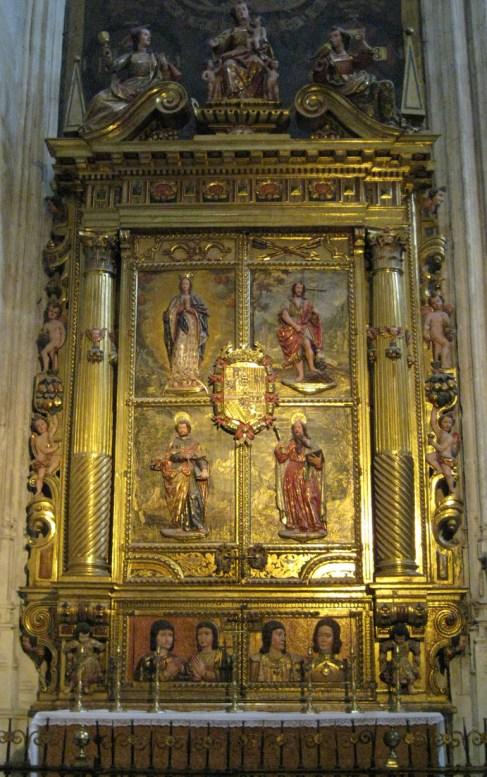 Relicario de la Capilla Real. Granada. Foto: wikicommons.