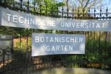 The main entrance of the TUD Boranical Garden