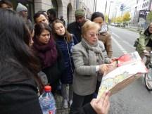 on the history of Berlin with Ms. Königsberg (BMUB)