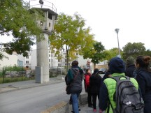 Watchtower of the former border defences in Berlin