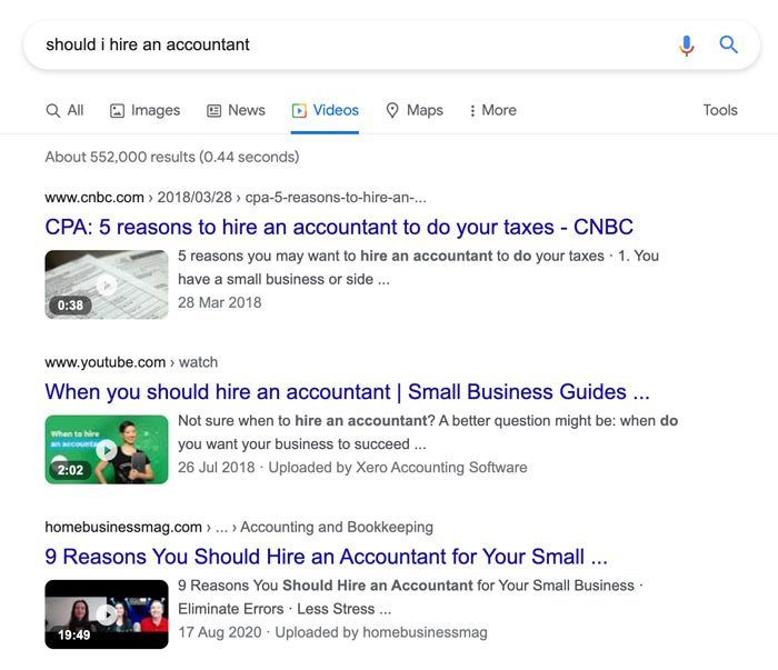 Marketing Tips for Accountants CPAs - Create YouTube Videos